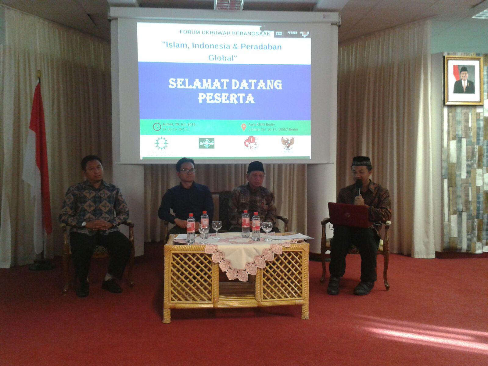 Inisiasi Forum Kebangsaan, Muhammadiyah Jerman Gandeng Semua Elemen Bangsa