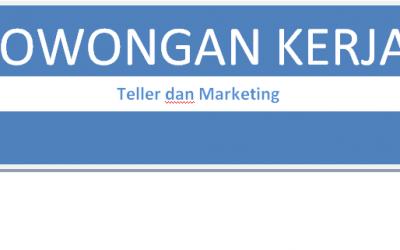 Lowongan Kerja Teller dan Marketing KSPPS Fastabiq, Paling Lambat 15 Desember 2017