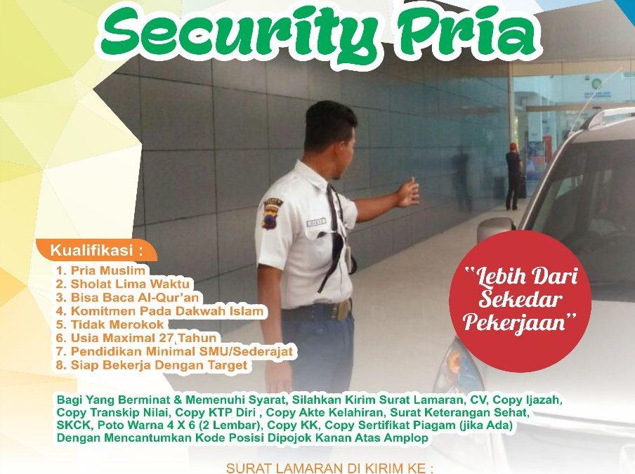 Dibutuhkan Segara Cleaning Service dan Security RS Fastabiq Sehat Pati, Paling Lambat 13 Januari 2018