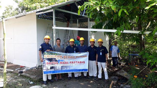 Program Bedah Rumah Fastabiq, Sasar Warga Kurang Mampu