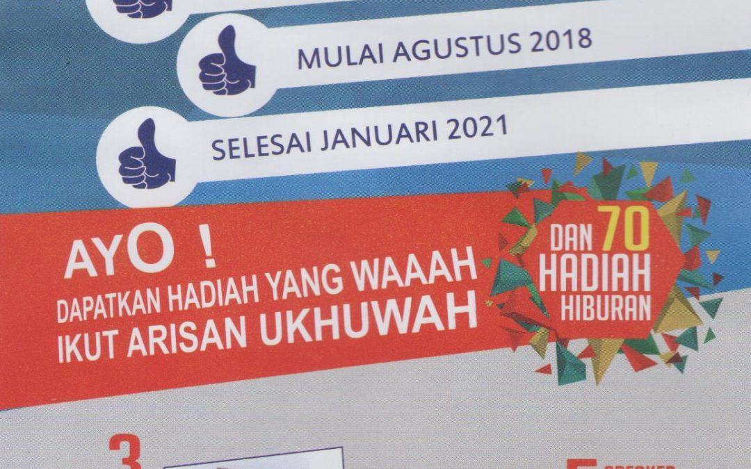 Yuk Ikut Arisan Ukhuwah 2018, Grandprize 2 Unit Sepeda Motor