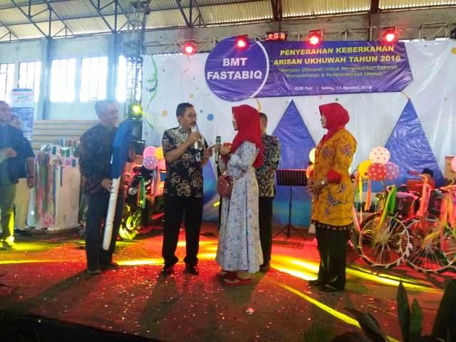 BMT Fastabiq Bagikan Keberkahan Arisan Ukhuwah Kepada 3.041 Anggota