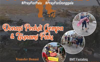 Salurkan Donasi Anda, Untuk Korban Gempa dan Tsunami Palu