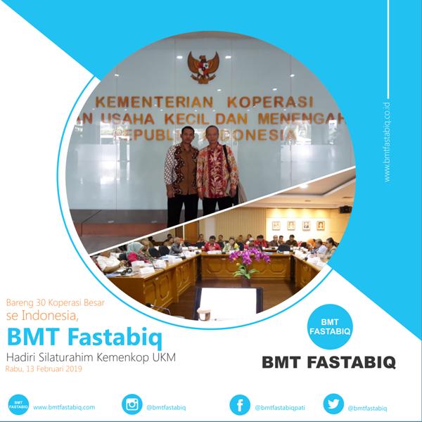 Bareng 30 Koperasi Besar se Indonesia, BMT Fastabiq Hadiri Silaturahim Kemenkop UKM