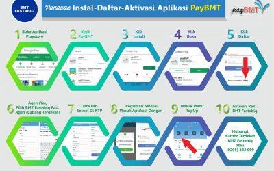 Begini Cara Install App PayBMT Fastabiq