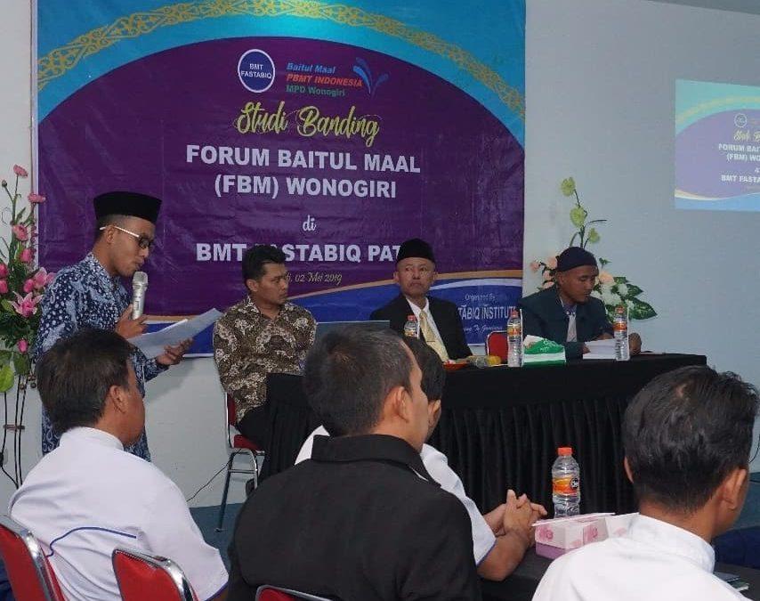 14 BMT dari Forum Baitul Maal MPD Wonogiri Studi Banding ke BMT Fastabiq Pati