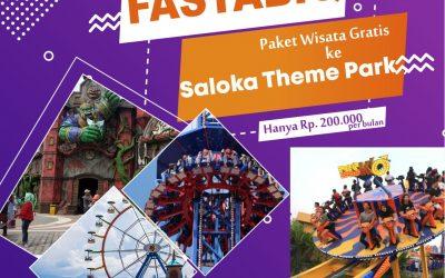 Telah Dibuka, Arisan Wisata Saloka Theme Park Semarang
