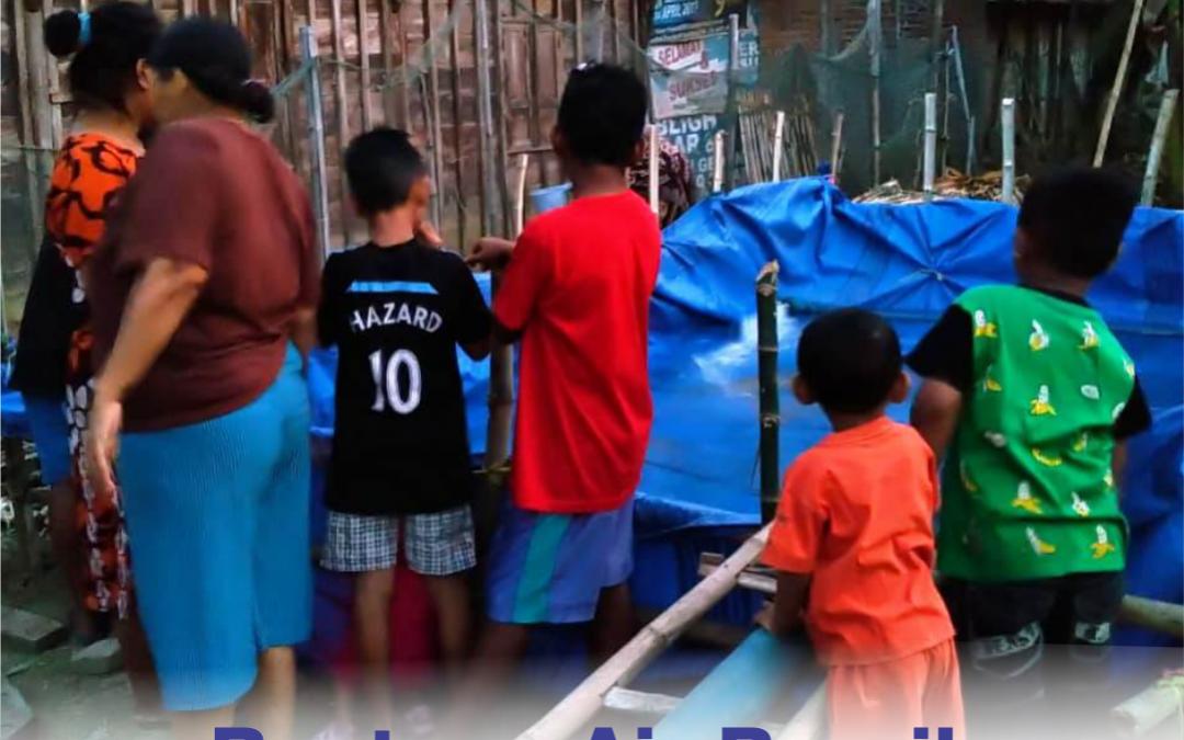 BMT Fastabiq Salurkan Bantuan Air Bersih di Desa Sarimulyo, Winong
