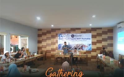 Gathering Anggota BMT Fastabiq, Kuatkan Silaturahim Memperbesar Sinergi